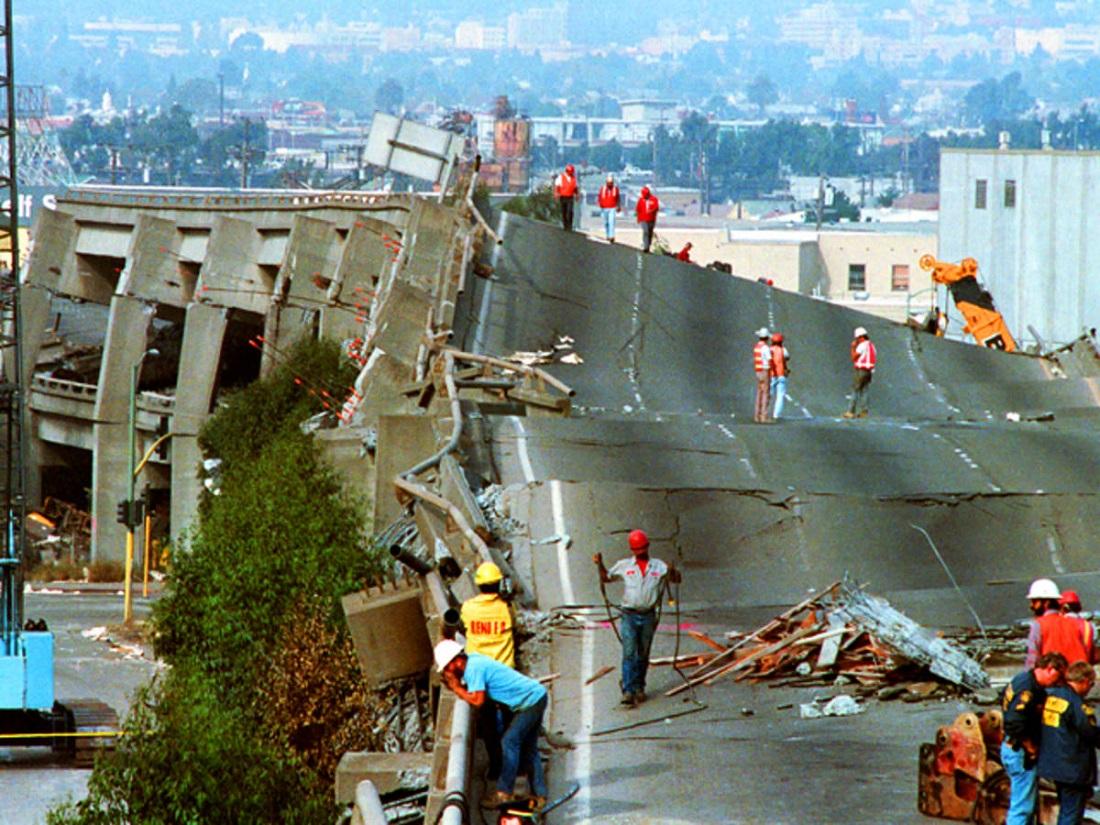 زلزله لسآنجلس
