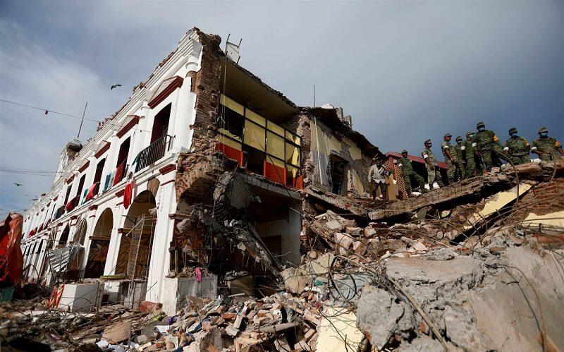 زلزله چشمانداز رشد اقتصادی مکزیک را کاهش داد
