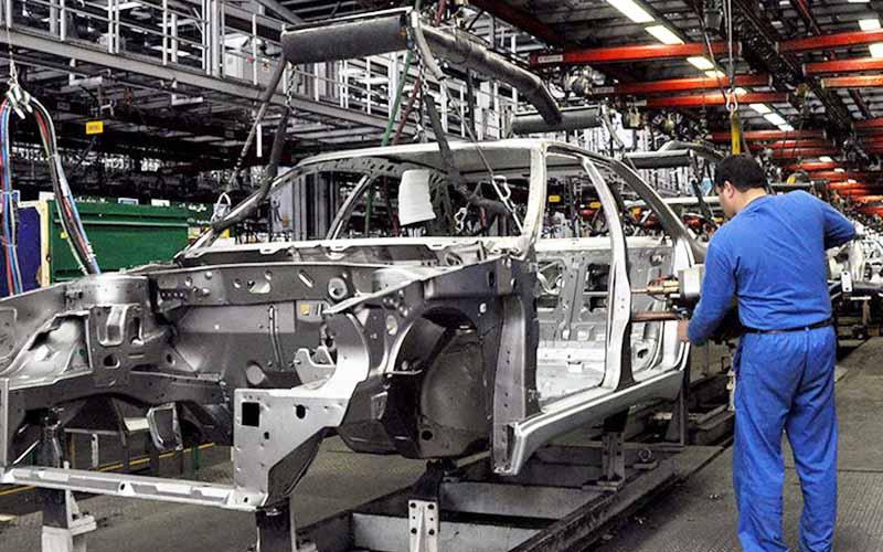 تولید خودروهای سواری داخلی در مرداد ماه افزایش یافت