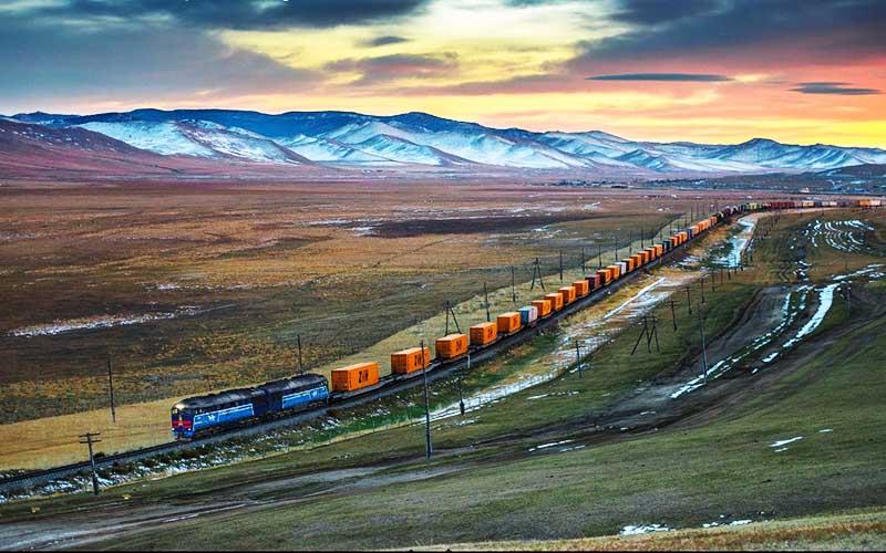 قطار باری چین به ایران