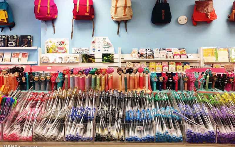 فروش نوشتافزار ایرانی در بوفه مدارس از مهر ماه