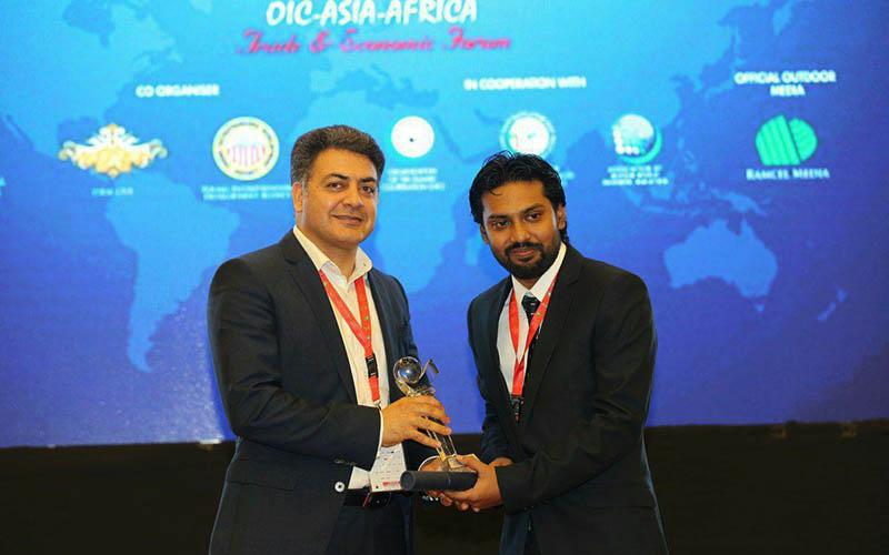 جایزه کارآفرین نوآور کشورهای اسلامی برای مدیرعامل فروشگاههای زنجیرهای رفاه