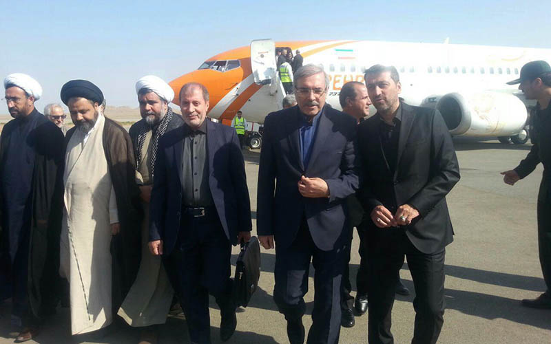 سفر دبیر شورای عالی مناطق آزاد به منطقه آزاد ماکو