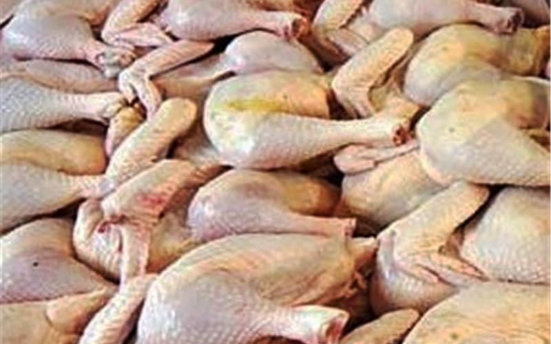 قیمت مرغ با کاهش ۱۱۰۰ تومان به کیلویی ۷۵۰۰ تومان رسید