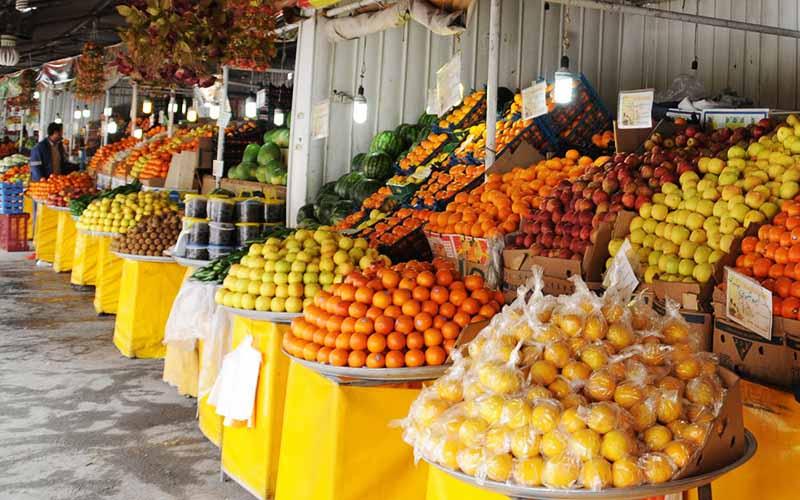قیمت میوه در ایام عید افزایش مییابد
