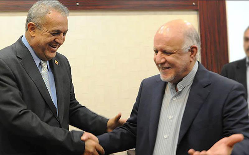 وزیران نفت ایران و ونزوئلا