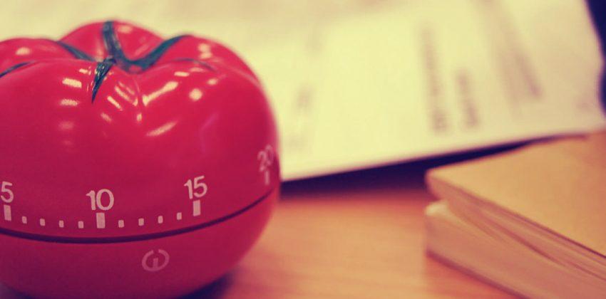 مدیریت زمان با تکنیک پومودورو گوجهفرنگی