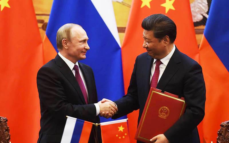 مبادلات تجاری چین و روسیه