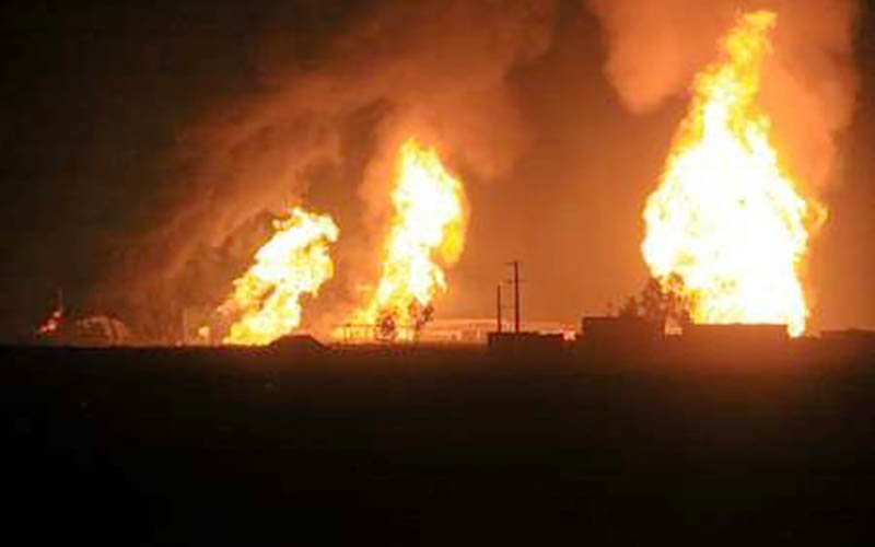 جزئیات انفجار در پالایشگاه نفت تهران