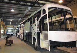 تولید اتوبوس مان متوقف شد
