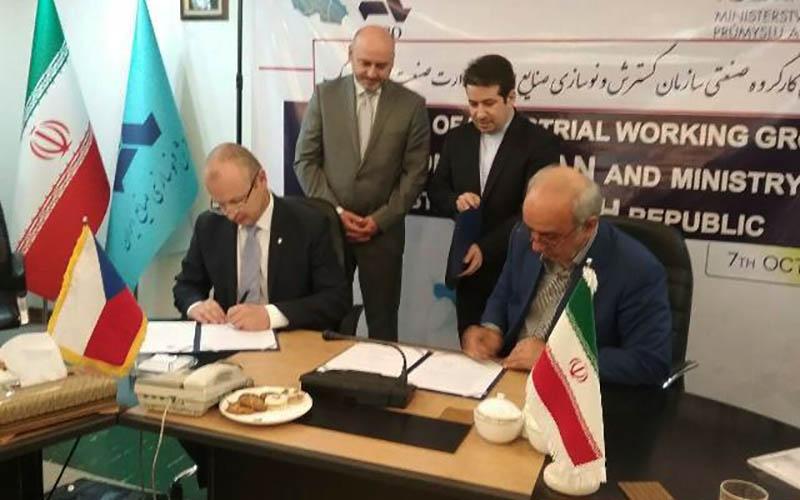 امضای قرارداد محافظت از سرمایهگذاری ایران و چک