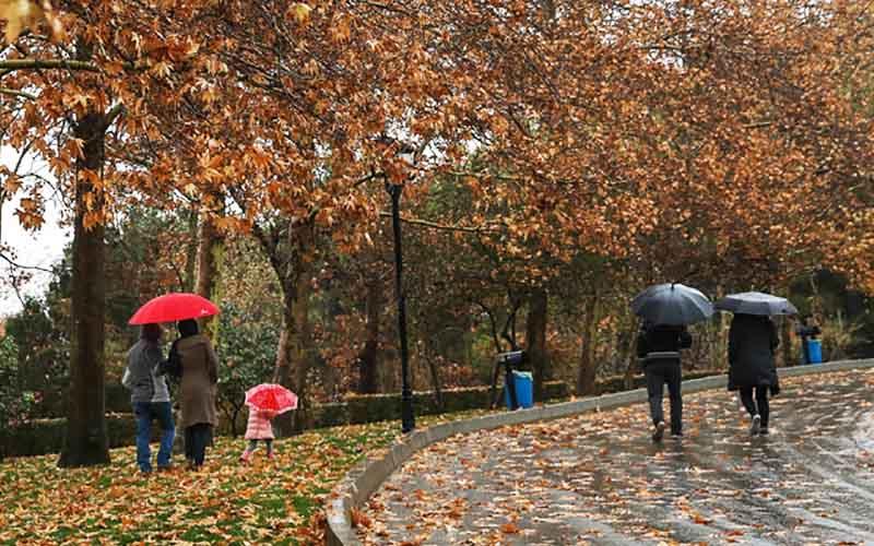 بارش پاییزه کاهش مییابد