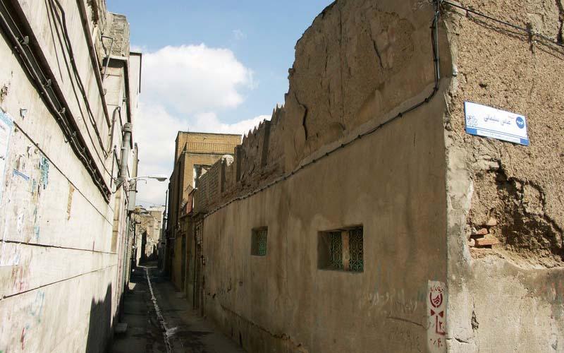 بازار املاک کلنگی در بافت فرسوده تهران