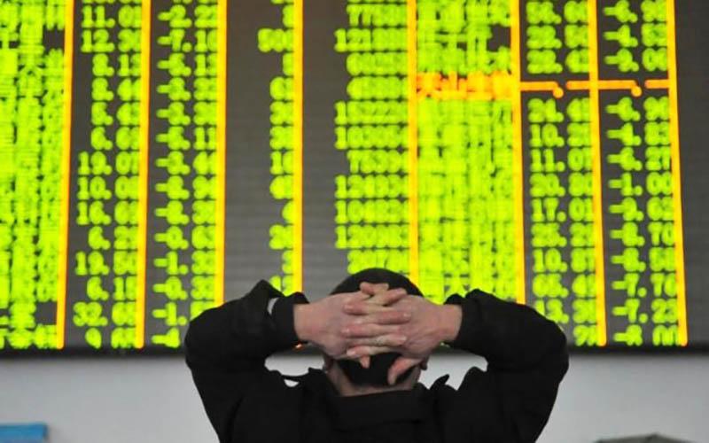 سهام چین رکورد زد