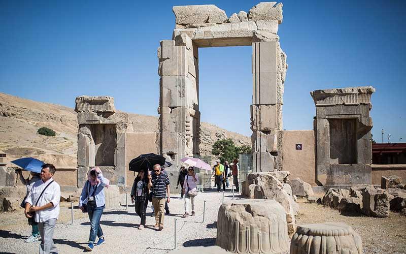 «تختجمشید» در صدر توجه گردشگران خارجی