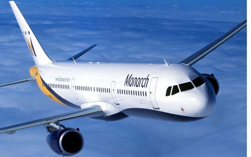 خطوط هوایی مونارک انگلیس ورشکست شد