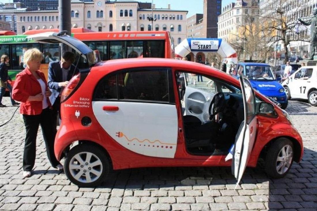 خودروهای برقی در نروژ