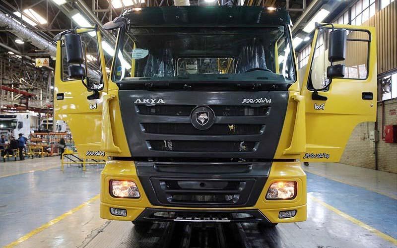 جدیدترین وضعیت تولید خودروهای سنگین در شهریور ۹۶