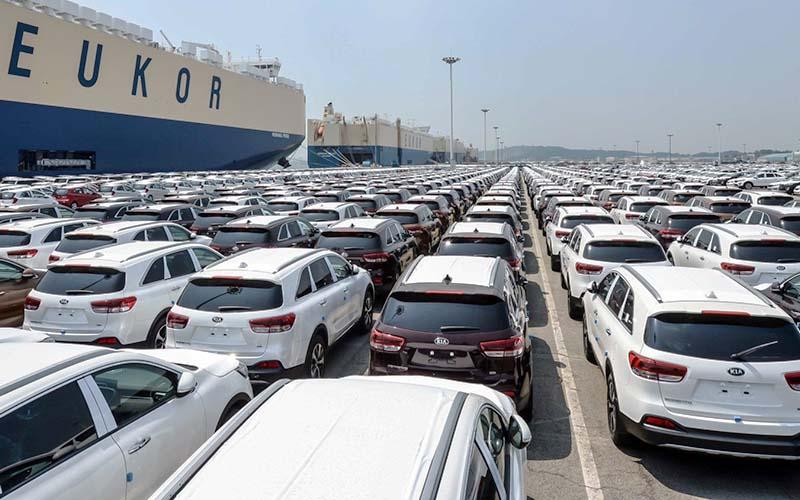آمار واردات خودرو در نیمه نخست امسال