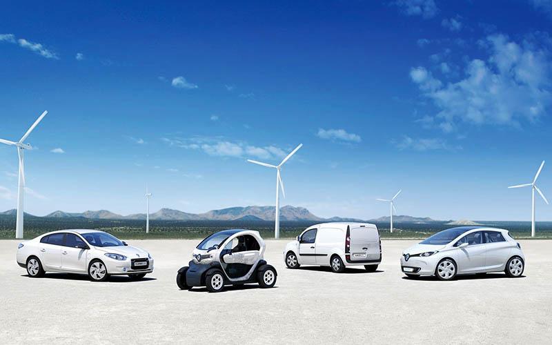 برنامه رنو برای افزایش تولید خودروهای برقی