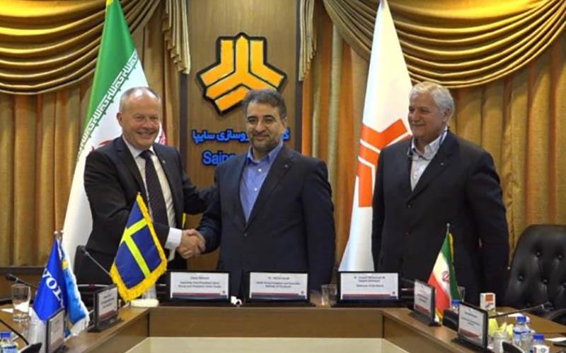 ولوو در شرایط سخت ایران را ترک نکرد