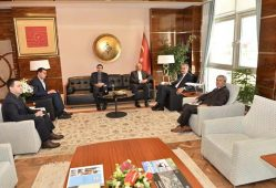 رایزنی سفیر ایران با رئیس کل گمرک ترکیه
