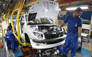 تولید بیش از ۶۹ هزار دستگاه خودرو در شهریور ماه امسال