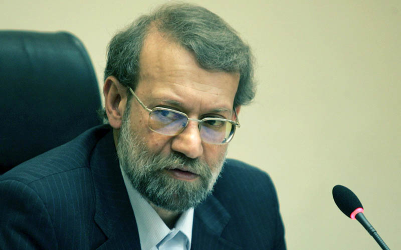 پیام تبریک لاریجانی به رئیس مجلس سنای پاکستان