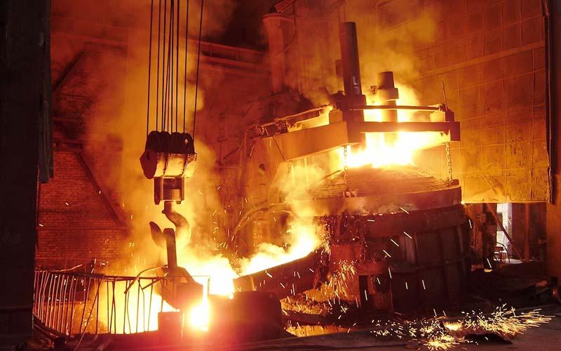رشد تولید فولاد ایران با وجود رکورد منفی تولید جهانی