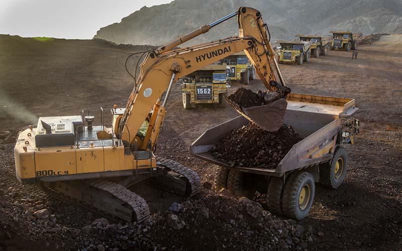 سهم معدن از تولید ناخالص ملی ۲۰ تا ۳۰ درصد است