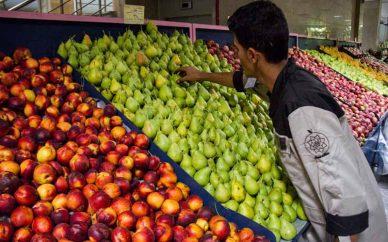 تهرانیها میوه را ۲۸ درصد گرانتر میخرند