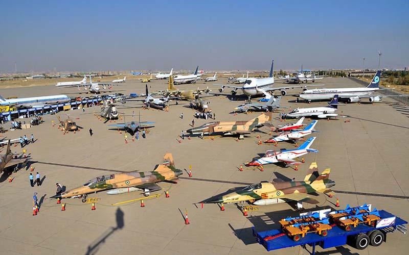 تور تخصصی نمایشگاه هوایی تهران برگزار میشود