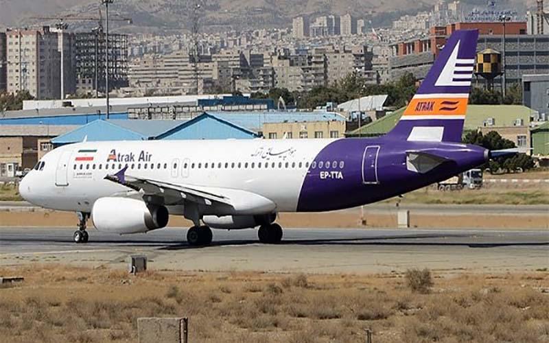 هواپیمایی اترک پرچمدار تاخیرهای پروازی