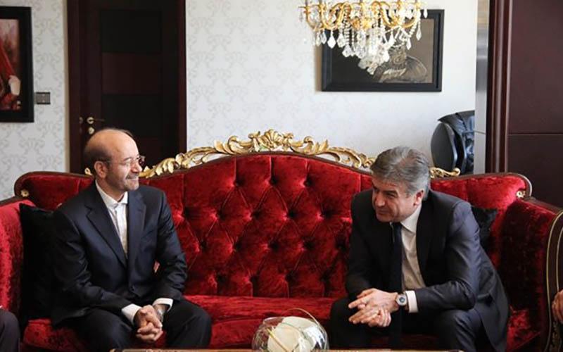 استارت همکاری ایران و ارمنستان در زمینه آب و برق زده شد