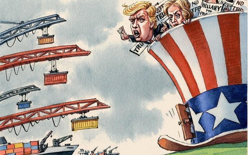 پشت پرده سیاستهای حمایتگرایانه آمریکا علیه اروپا