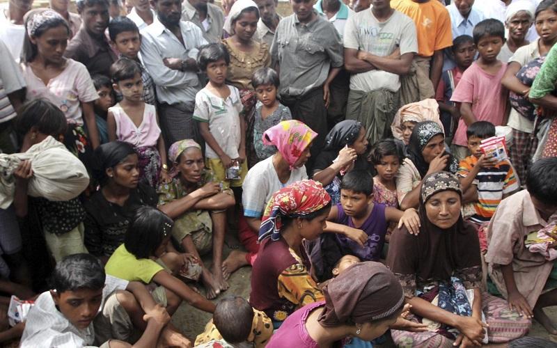 پناهندگی ۴۲۲ هزار روهینگیایی به بنگلادش