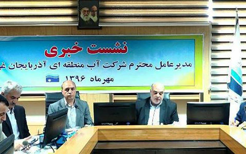 کاهش ۱۲ درصدی آب مخازن سدهای آذربایجان غربی