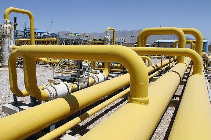 تولید روزانه گاز از مرز ۲۰۹ میلیون متر مکعب گذشت