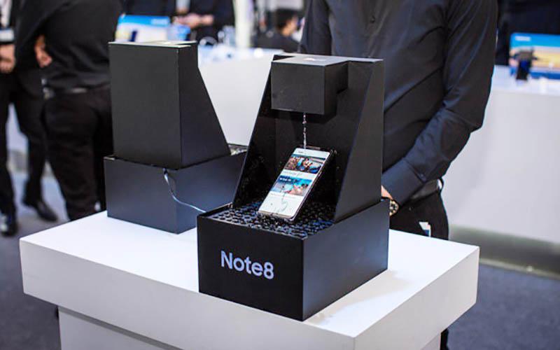 گلکسی Note8 در ایران رونمایی شد