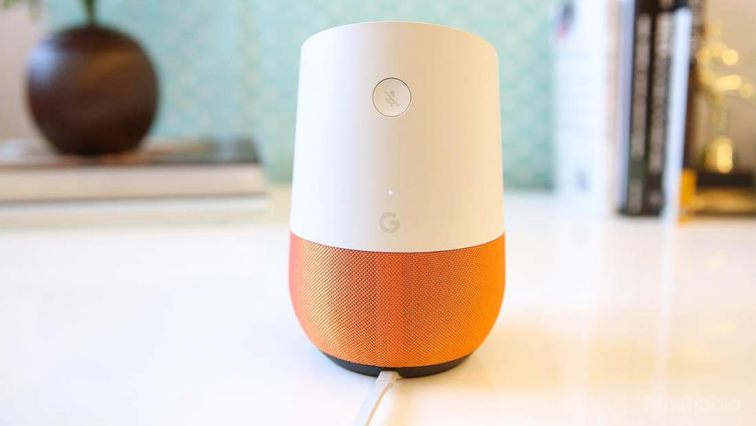 گوگل هوم دستیار صوتی هوشمند گوگل است.