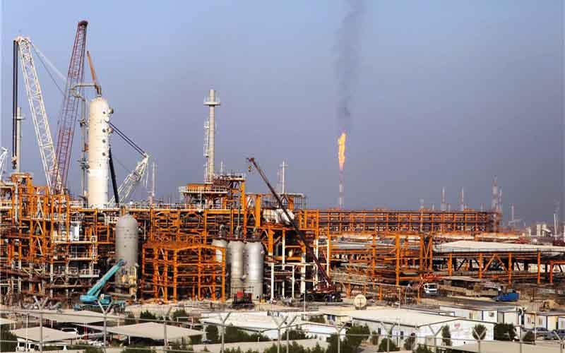 کاهش یافتن صادرات میعانات گازی ایران