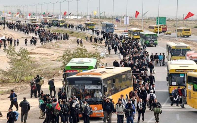کرایه اتوبوس زائران اربعین به نرخ عادی بازگشت