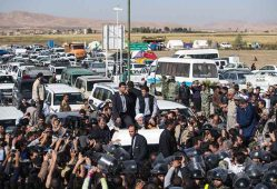 رئیسجمهور از مناطق زلزلهزده سرپل ذهاب بازدید کرد