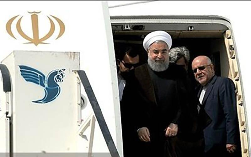 وزیر نفت رئیسجمهوری را در سفر به مناطق زلزلهزده همراهی میکند