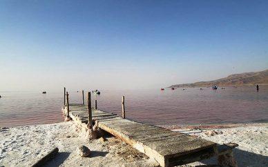 ابراز نگرانی نماینده سازمان ملل درباره دریاچه ارومیه