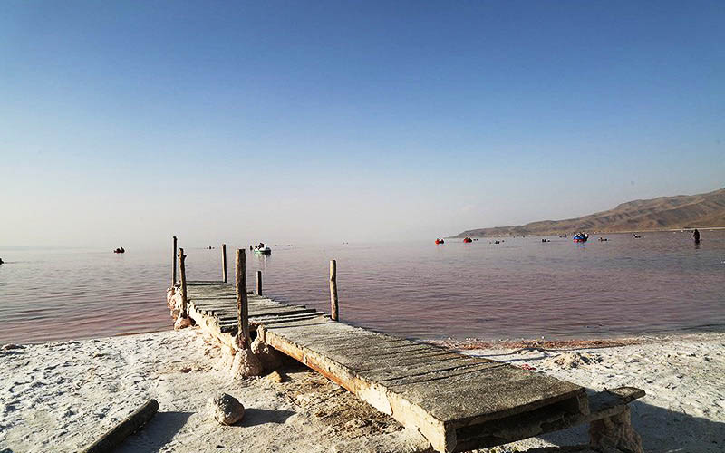تراز دریاچه ارومیه 39 سانتیمتر افزایش یافت