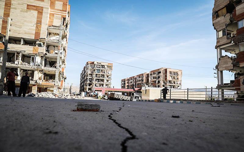 زلزله ۵.۶ ریشتری حوالی «سومار» کرمانشاه را لرزاند