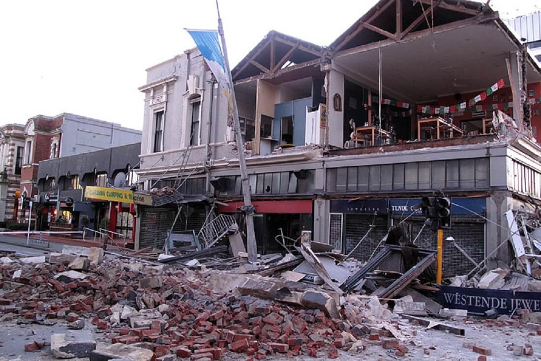 زلزله کریسچرچ در نیوزیلند
