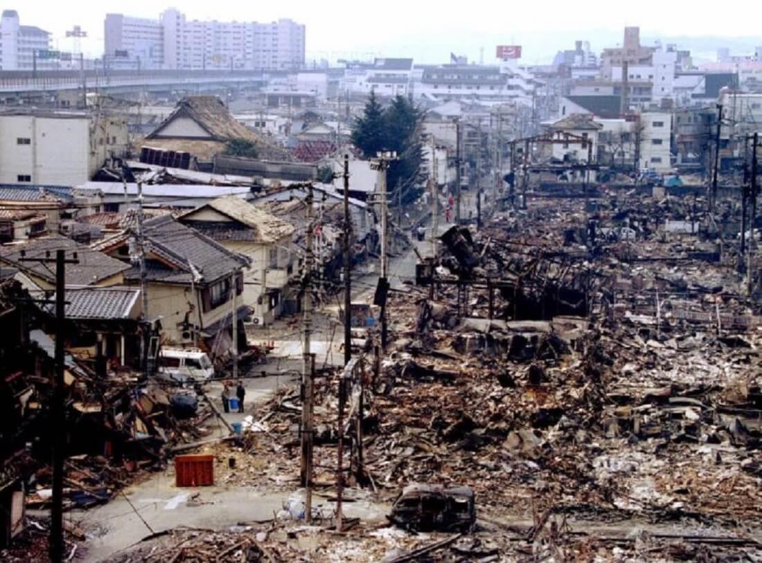 زلزله کوبه در ژاپن