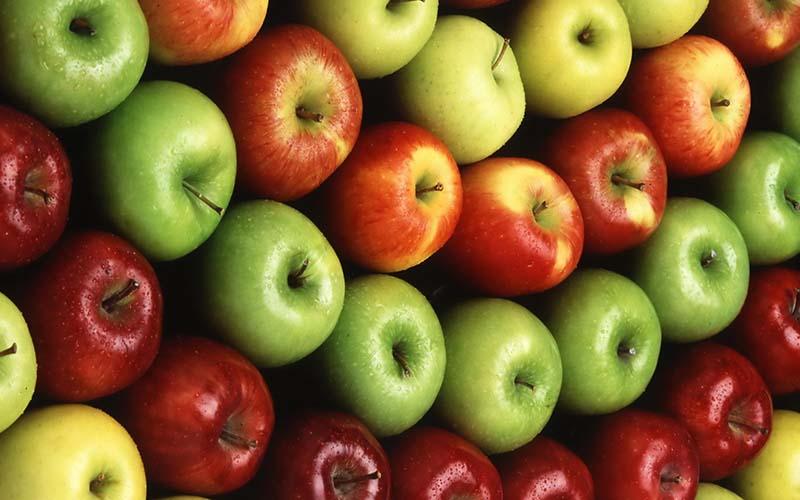کاهش ۴۰ درصدی تولید سیب در سال جاری